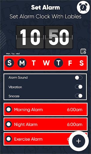 Smart Alarm Clock for Free – Loud Alarm Music  screenshots 1