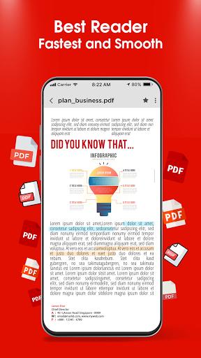 PDF Reader 2021 u2013 PDF Viewer, Scanner & Converter android2mod screenshots 3