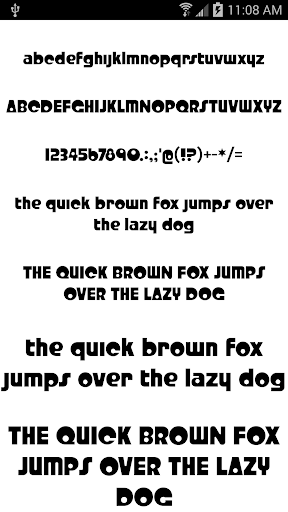 Fonts for FlipFont 50 #6 4.0.4 Screenshots 7