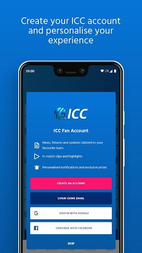 ICC - Live International Cricket Scores & News  screenshots 7