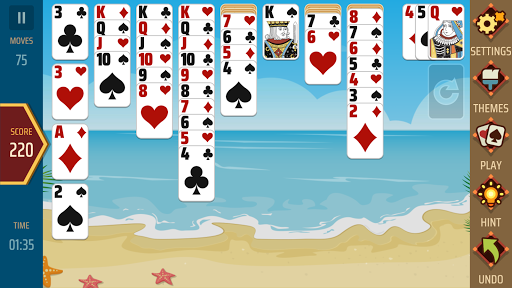 Solitaire 1.21 screenshots 7