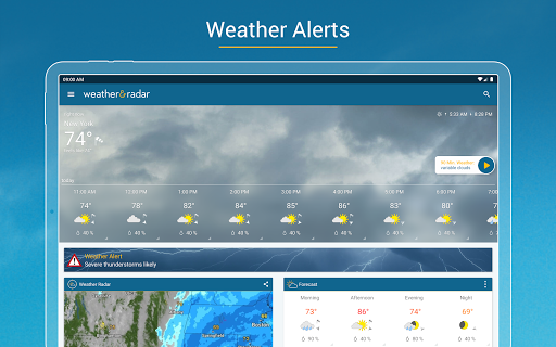 Weather & Radar - Storm radar apktram screenshots 17