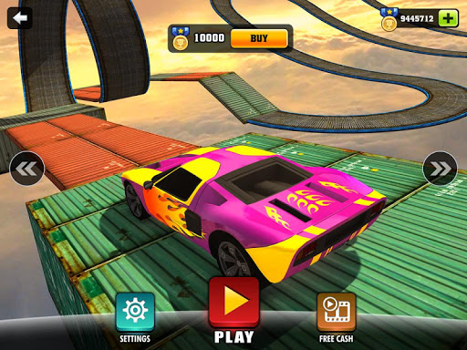 Impossible Stunt Car Tracks 3D modavailable screenshots 13