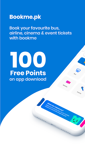 Bookme.pk - Bus, Airline & Cinema Tickets Online 9.2.1 Screenshots 1