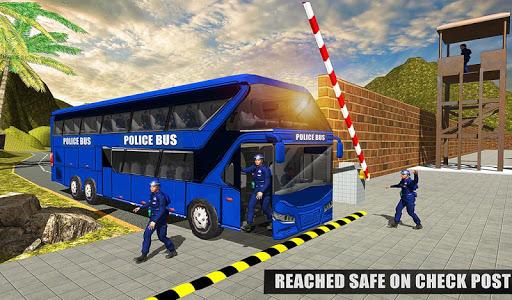 US Police Bus Mountain Driving Simulator  screenshots 11