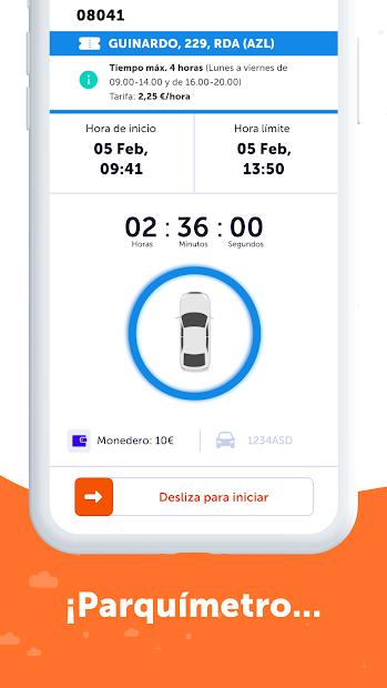 Imágen 5 de Parquimetro Madrid, Barcelona y Parking: Parclick para android