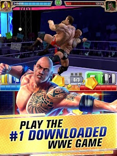 WWE Champions 2021 Mod Apk (High Damage/No Skill CD) 7