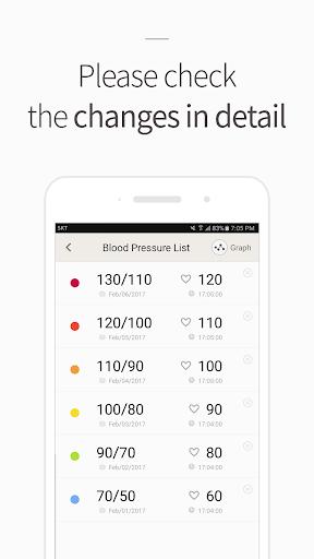 Blood Pressure(BP) Diary 4.1.8 screenshots 4