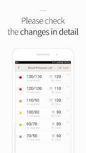 Blood Pressure(BP) Diary 4.2.0 Screenshots 4