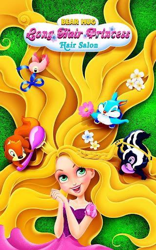 Long Hair Princess Hair Salon 1.8 screenshots 1