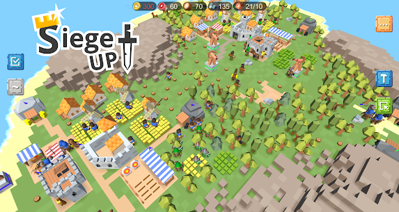 RTS Siege Up! MOD APK 1.1.74 (Free Shopping) 5