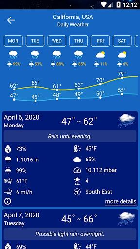 Weather Forecast  Screenshots 6