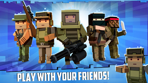 Block Gun: FPS PvP War - Online Gun Shooting Games apkslow screenshots 23