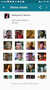 Malayalam Stickers 2021 Screenshot