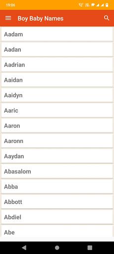 Christian Baby Names & Meaning apktram screenshots 3
