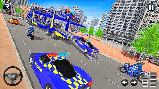 Grand Police Vehicles Transport Truck  Screenshots 14