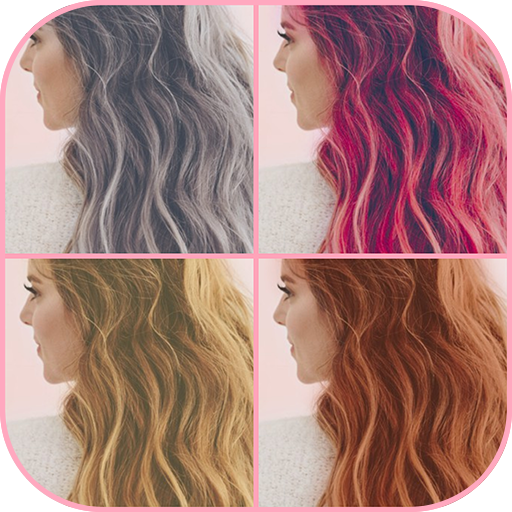 Hair color changer - Try different hair colors
