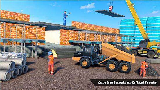 City House Construction Simulator Excavator Games 1.8 Screenshots 6