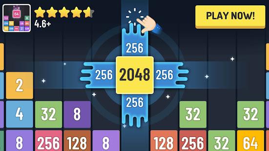 2048 Merge Number Games