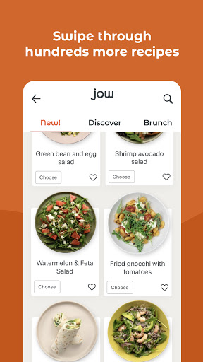 JOW: personalized recipes & groceries android2mod screenshots 4