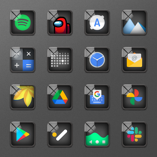 Download APK: Glassy Icon Pack | For Nova Launcher and More v4.0.3 [Patched]