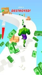Muscle Rush – Smash Running MOD APK 1.0.8 (Unlimited Money) 2