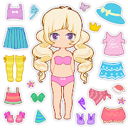 Chibi Avatar: Cute Doll Avatar Maker