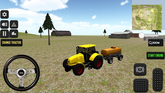 Farm and Real Life Tractor Game 2021 Apk Download 5