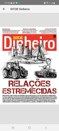 Revista ISTOÉ Dinheiro  screenshots 1
