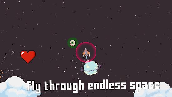 Space Flight: Pixel Rocket   Ship Destruction