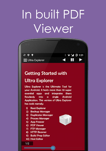 Ultra Explorer [Root Browser] 1.3.2 Screenshots 2