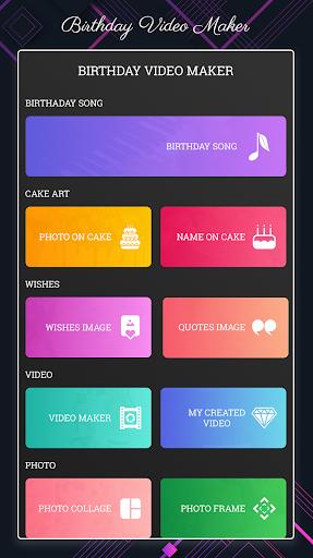 Birthday Video Maker v3.2.4 screenshots 1