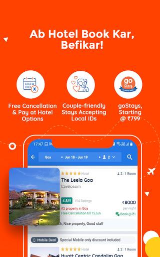 Goibibo Travel App-Hotel, Flight, IRCTC Train, Bus apktram screenshots 5