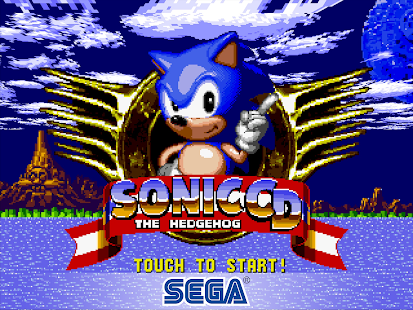 Sonic CD Classic Screenshot