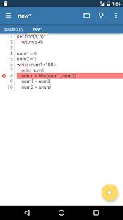 Pydroid Pro - IDE for Python 2
