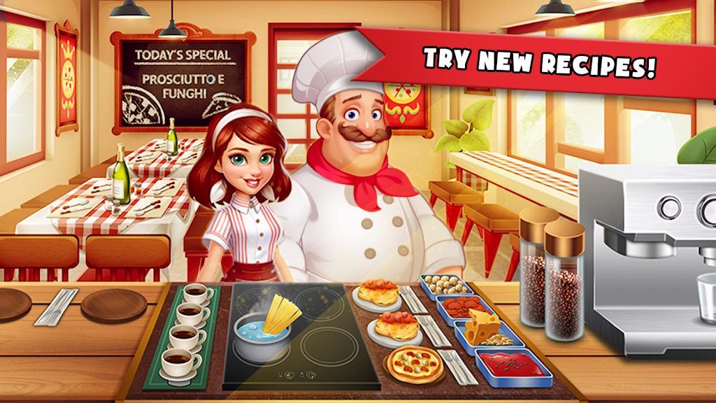 Cooking Madness - A Chef's Restaurant Games poster 1