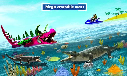 Crocodile Robot Car Transforming Mega Robot Games apktreat screenshots 2