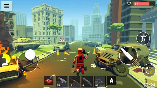 4 GUNS: Online Zombie Survival Mod Apk 1.04 (God Mode) 3
