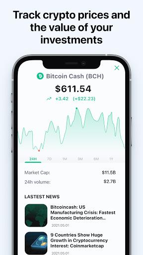 Bitcoin Wallet: buy BTC, BCH & ETH screenshots 8