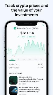 Bitcoin Wallet: buy BTC, BCH & ETH 7.2.6 Screenshots 8
