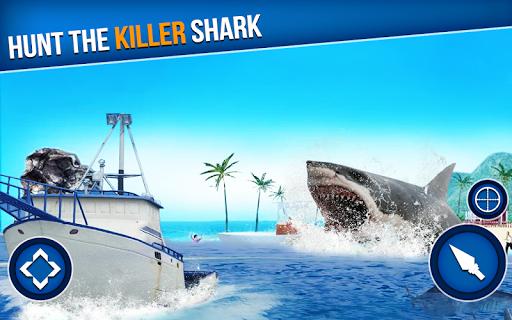 Spearfishing Wild Shark Hunter - Fishing game  screenshots 1