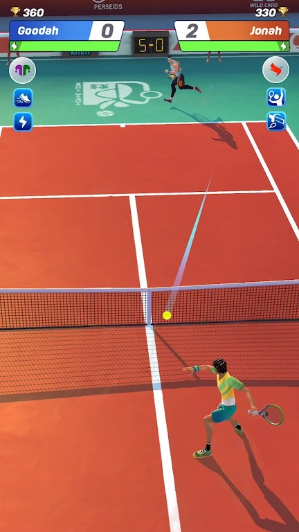 Tennis Clash: 1v1 Free Online Sports Game poster 1