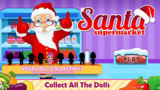 santa go shop - supermarket games screenshot 3