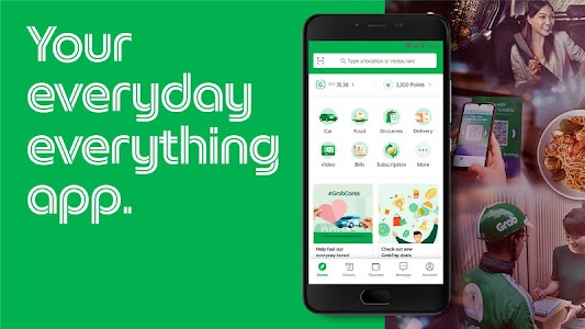 Grab - Transport, Food Delivery, Payments 5.143.0