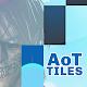 Piano AoT Sasageyo Anime Tiles para PC Windows