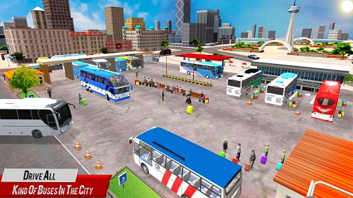 Super Coach Driving 2021 : Bus Free Games 2021 screenshots 9