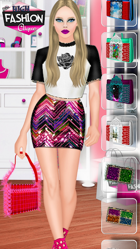 High Fashion Clique - Dress up & Makeup Game  screenshots 21