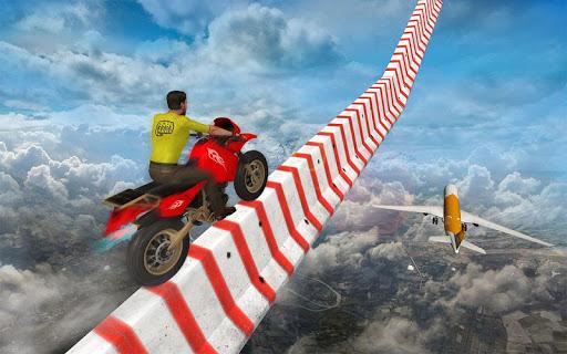 Sky bike stunt 3d   Bike Race u2013 Free Bike Games screenshots 8
