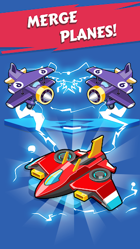 Merge Planes - Best Idle Relaxing Game apk  screenshots 2