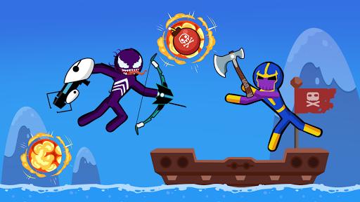 Spider Stickman Fighting 3 - Supreme Duelist Apkfinish screenshots 14